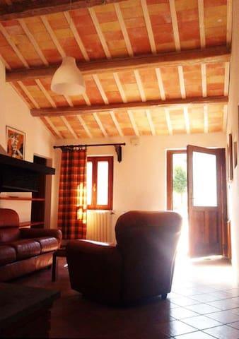 Casa colonica sulla prima collina - Porto Potenza Picena - Hus