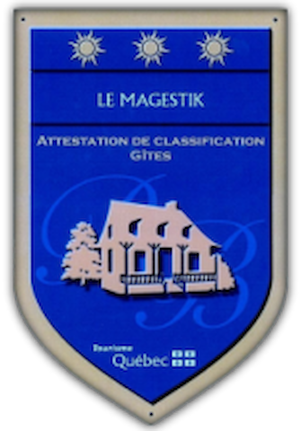 We are members of Tourisme Quebec