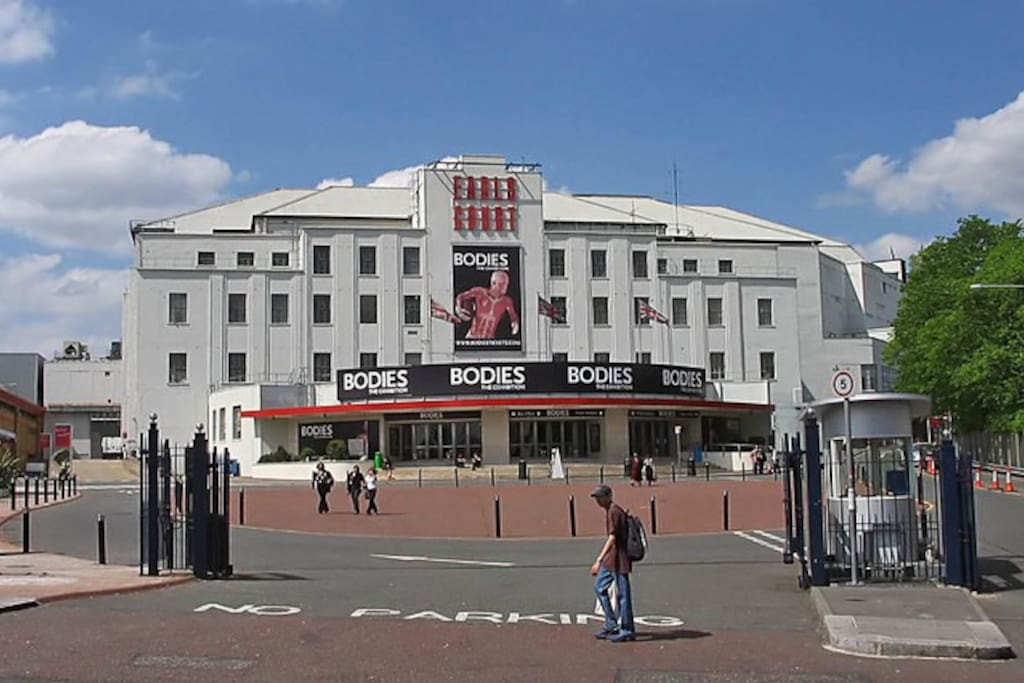 Earls Court Exibition Centre - photography by Richard Thomas