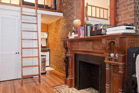 Classic Upper West Side studio loft - New York - Appartement
