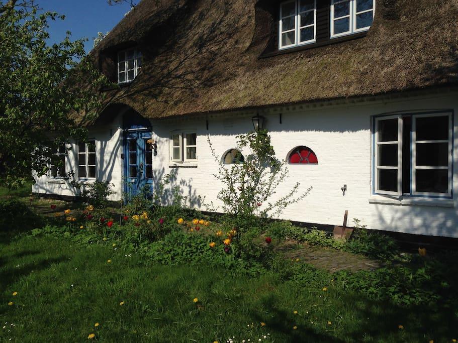 Das Eider Cottage in Süderstapel, ein Bauernhaus aus dem Jahr 1860