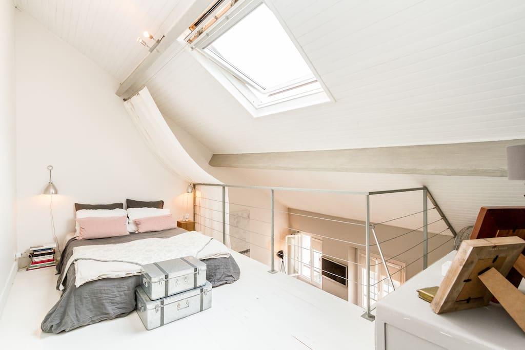 Duplex 2nd floor with the bedroom
