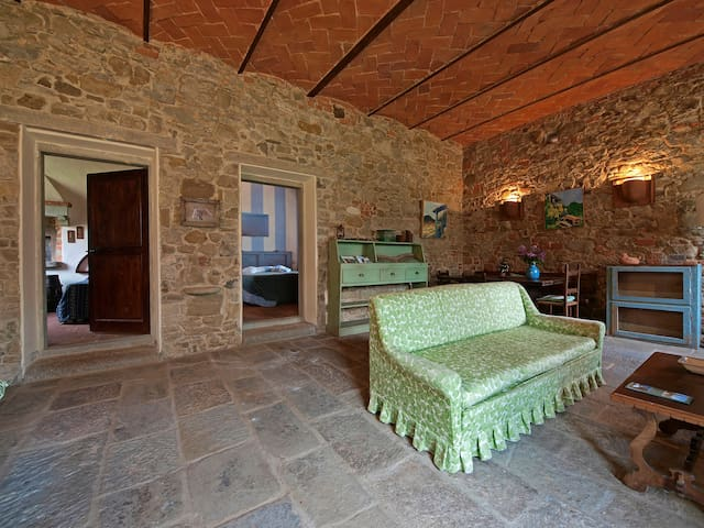 The Barn - Apartment in farmhouse - Reggello - Apartment