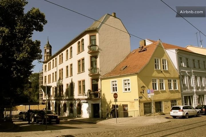 Pension das Haus am Salzhof - Brandenburg - ทาวน์เฮาส์