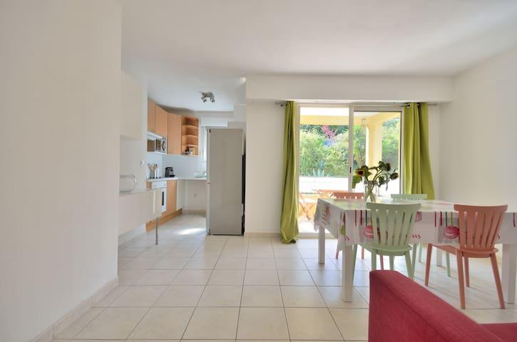 One bedroom apt w pool and tennis - Mougins - Apartamento