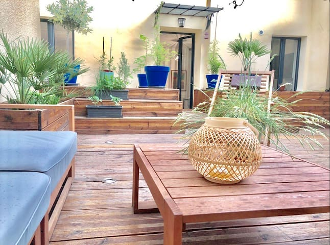 3 bedrooms near Eiffel Tower sunny private terrace