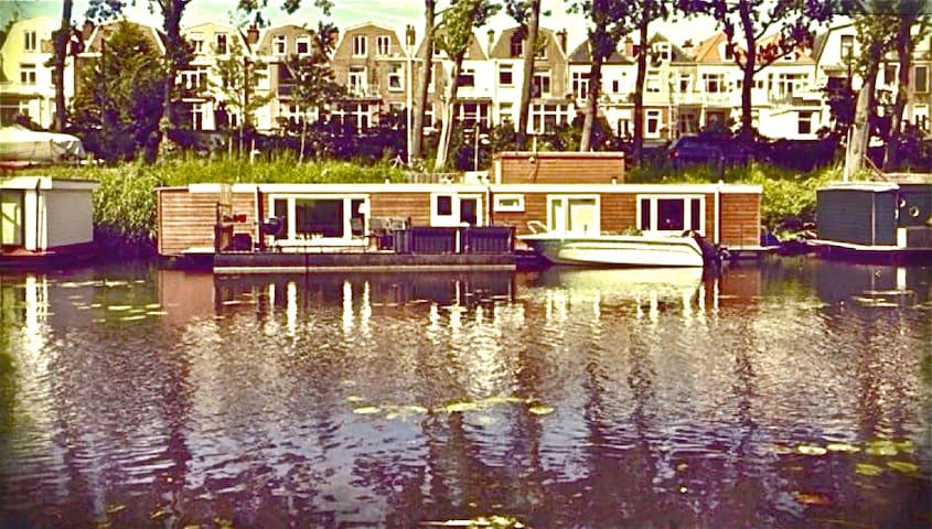 Unique houseboat near beach/centre - Lahey - Tekne