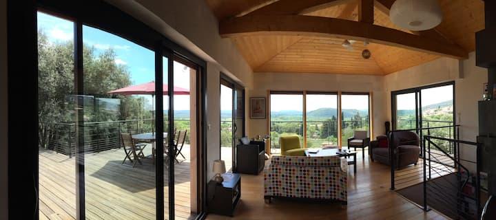 Hanging Wooden Villa