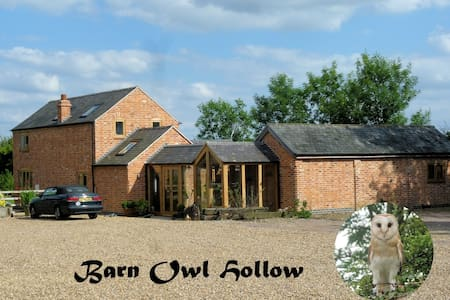 The West Wing, Barn Owl Hollow Double Room Ensuite - Market Harborough - Haus