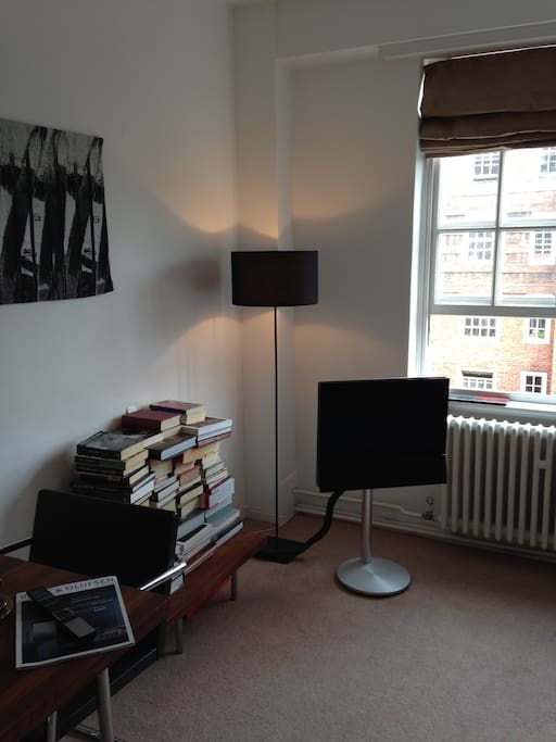 Bang & Olufsen TV with free Virgin media cable television.