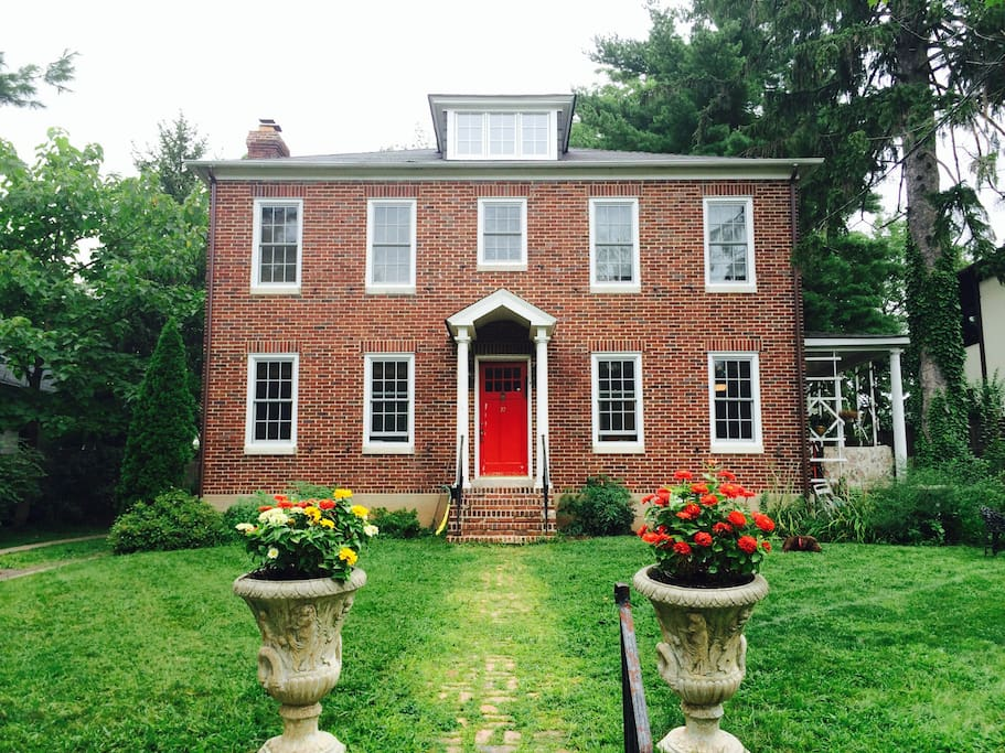 Our charming brick house!