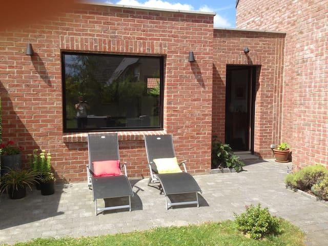 Chambre privative au calme proche de Lille - Prémesques - Aamiaismajoitus