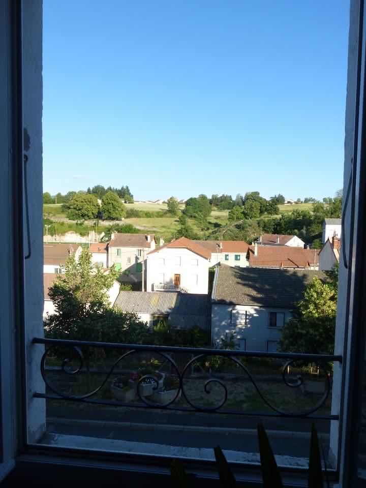 Appartement spacieux à Langogne, Lozère