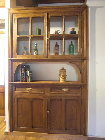 Apartamento rústico en antigua casa de labranza