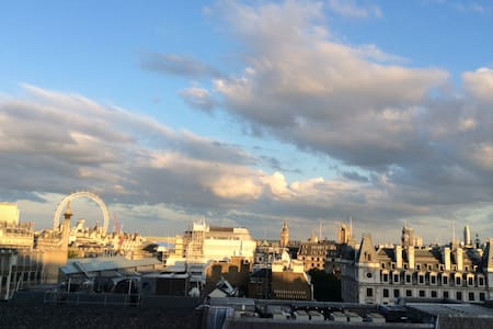 Spectacular views of London