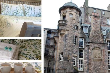 Live like a National Treasure by Edinburgh Castle - Edimburgo - Bed & Breakfast