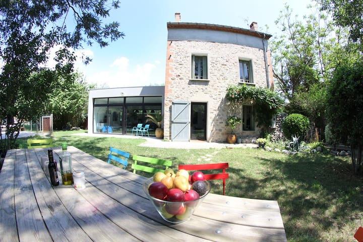 Mas style ancien/moderne + piscine - Amélie-les-Bains-Palalda - Talo