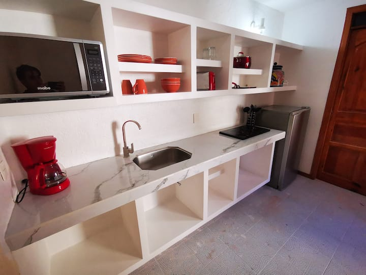 Villas Ximena #4 - Newly remodeled downtown apartment with Balcony Pool and A/C