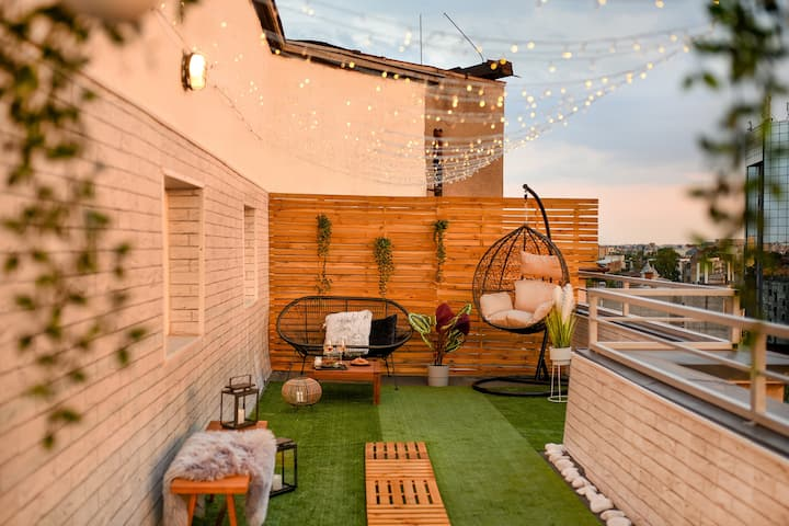 THE MAGICAL TERRACE | Central Attic Studio