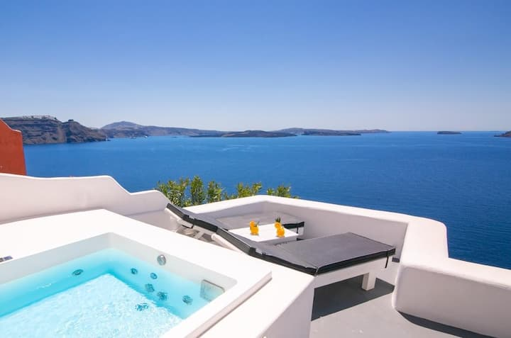 Full Moon Villas Sea with View & Private Jacuzzi