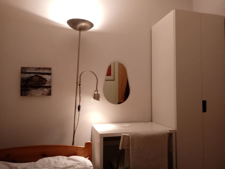 Lamp and reading light