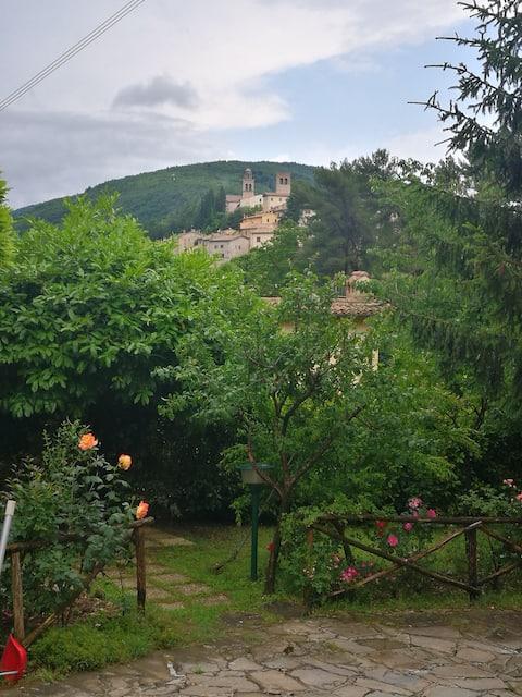 Peace stop in Umbria