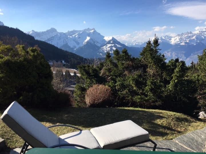 7 guests flat - ski Villars-sur-Ollon
