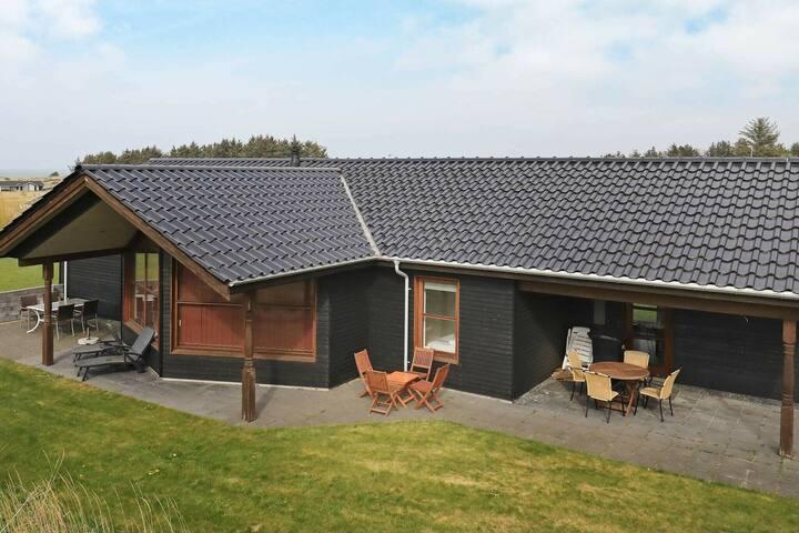 Pintoresca casa en Jutlandia con terraza cubierta