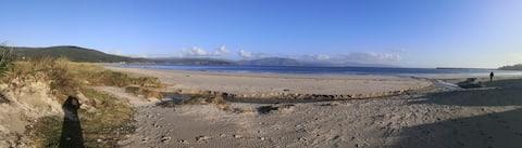 Apartamento a pie de playa, vista despejada al mar