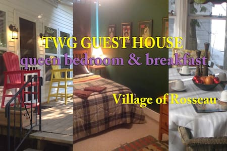TWG GUEST HOUSE - QUEEN BEDROOM - Rosseau - Bed & Breakfast