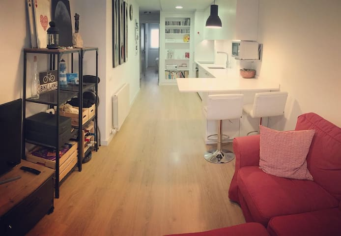 Apartment, 20 minutes from Barcelona downtown