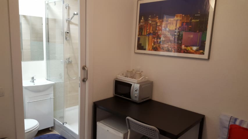Small room with bathroom. - Madrid - Pis