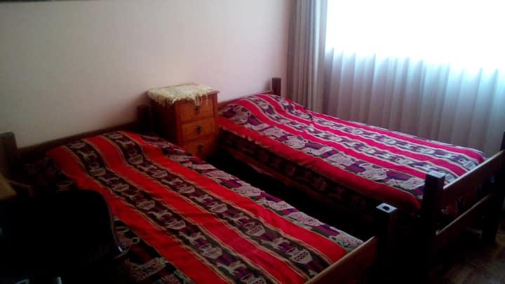Maravillosa habitación en La Paz