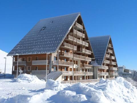 La résidence en hiver