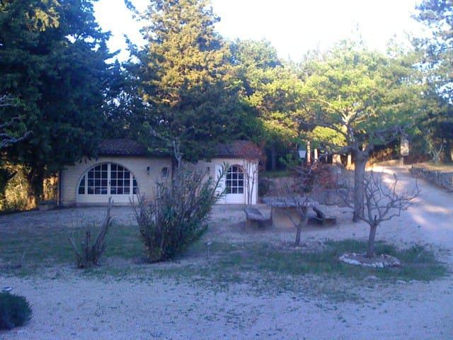 Appartement privé (Orangerie) au coeur du Luberon - Bonnieux