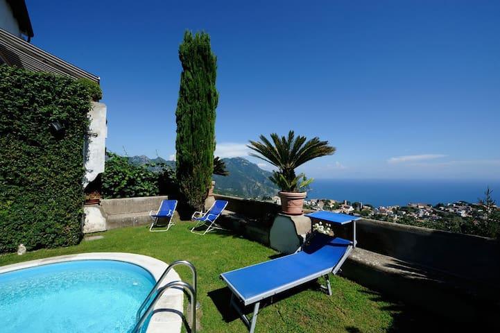 SCALA - Bellavista Amalfi Coast Pool and sea view - Scala - Appartement
