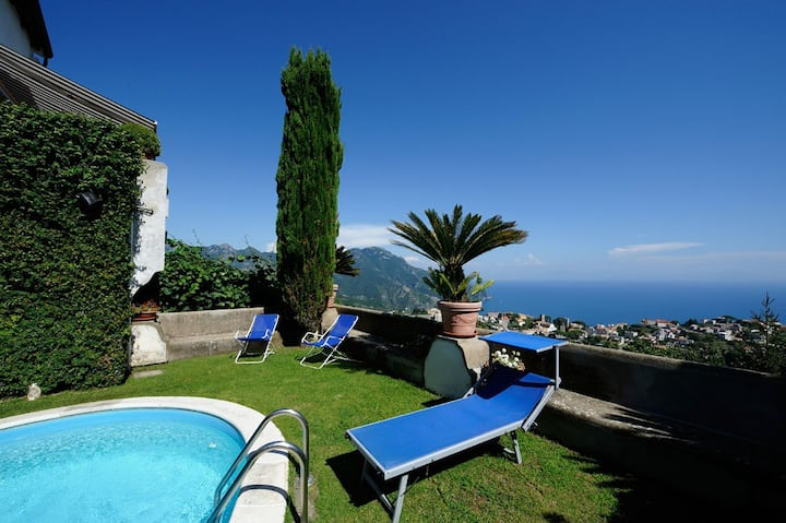 SCALA - Bellavista Amalfi Coast Pool and sea view