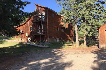 Cozy cabin room on Shadow Mountain - Conifer - Srub
