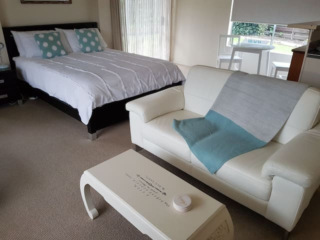 Large bedsit flat with kitchen and bathroom