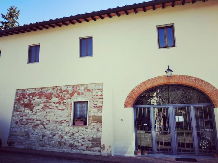 Appartamento in colonica nelle colline del Chianti