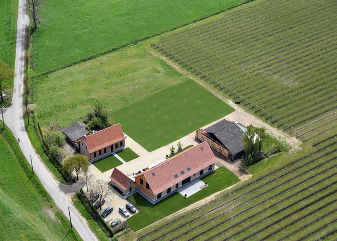 Hemels logeren tussen boomgaarden - Sint-Gillis-Waas