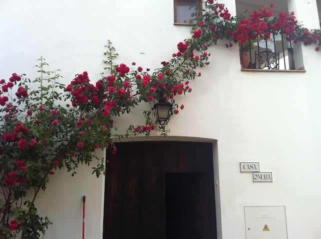 Casa Onuba: preciosa casa 9 pers. - Fuenteheridos - Huis
