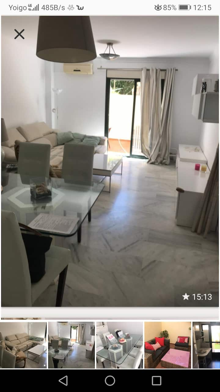 Beautiful new 2 bedroom apartment 200m from beach