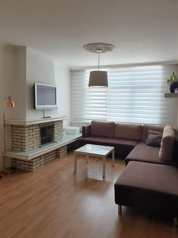 Spacious cozy apartment in centre