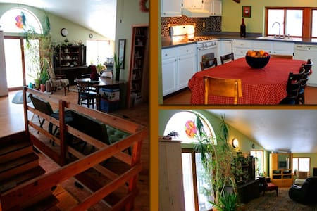 Farm to Fork Retreat 5 Bdrm Lodge - Mondovi
