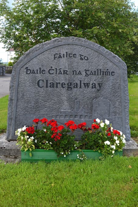 Welcome to the quaint, historic village of Claregalway!
