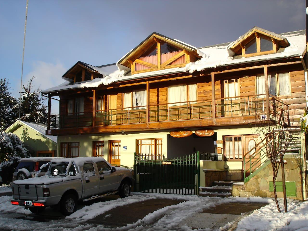 Apart Hotel Omilen Antu invierno 2011