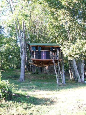 Les cabanes de l'Espinal - Saurat - Trädhus