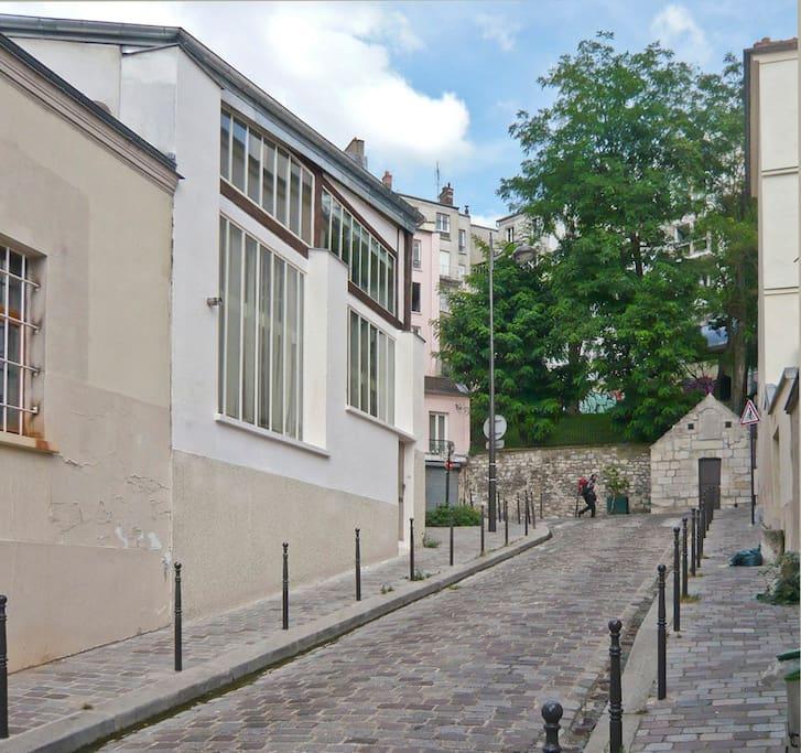 la Maison - la rue de Savies
