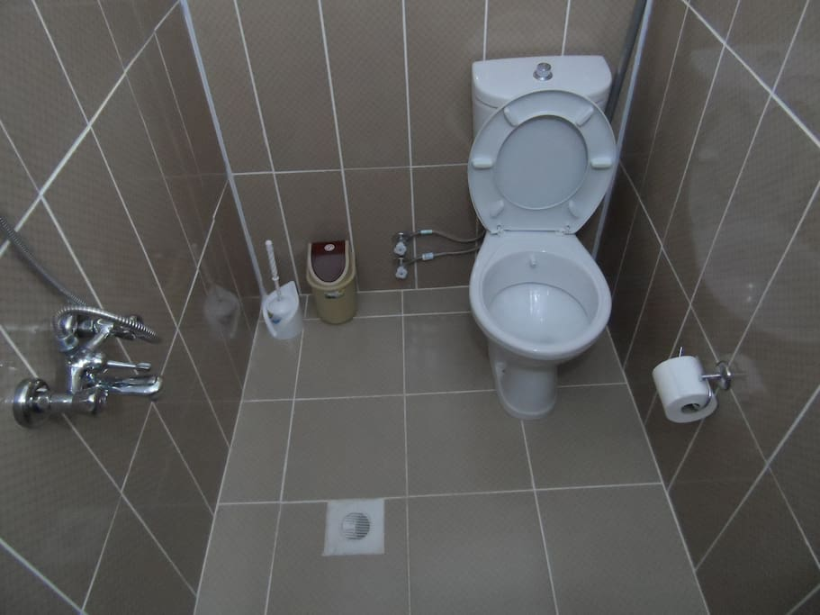 bathroom and wc of the double room